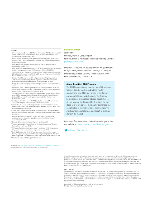 Advisorselect - Unlocking the secrets of employee engagement